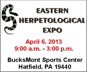 Click here for the Eastern Herpetological Expo!